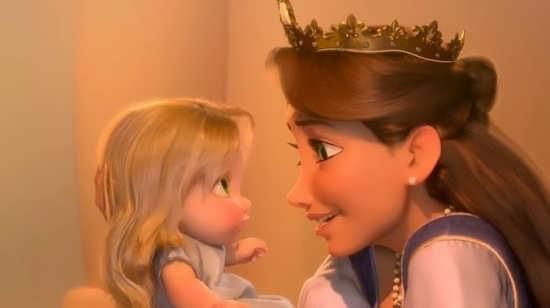 عکس انیمیشنی زیبا از مادر و فرزند
