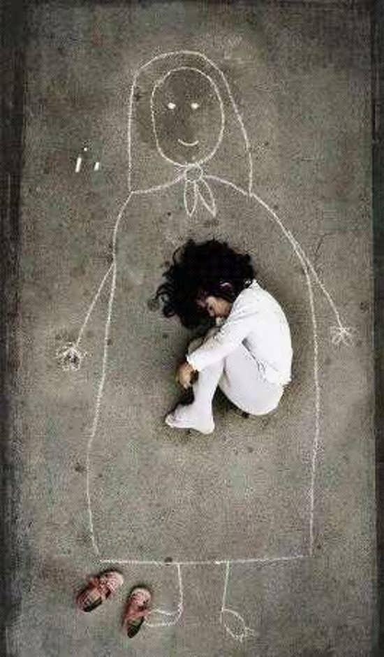 عکس مفهومی و غمگین