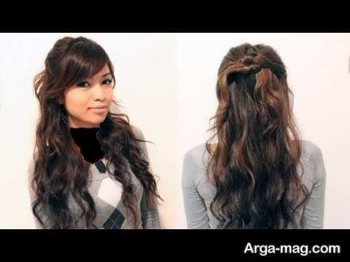 مدل موی باز و زیبا دخترانه