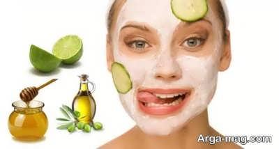 ماسک خیار برای رفع لکه های صورت