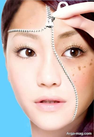 ماسک خیار برای از بین بردن لکه های صورت