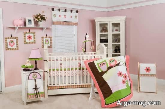 چیدمان جالب اتاق نوزاد