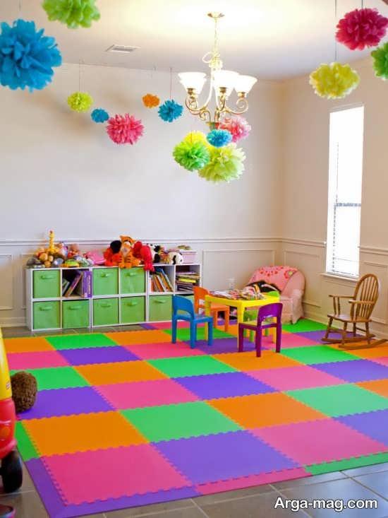 استفاده از رنگهای شاد برای تزیین اتاق خواب بچه