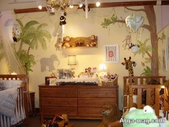 ایده جذاب و جالب برای تزیین اتاق کودک