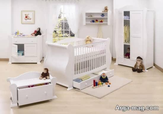 تزیین زیبا و شیک اتاق نوزاد