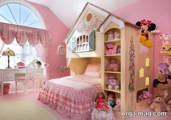 طراحی جالب اتاق دخترانه