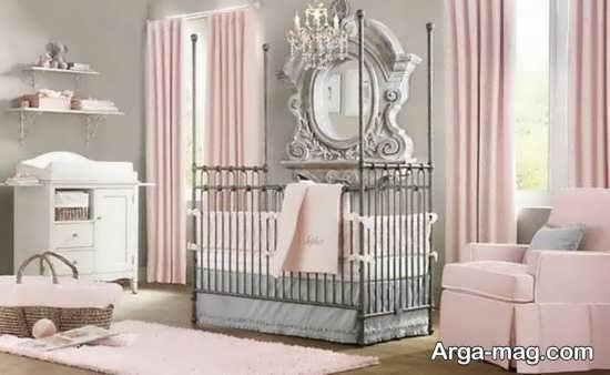تزیین اتاق نوزاد دختر با متد جذاب و به روز دنیا