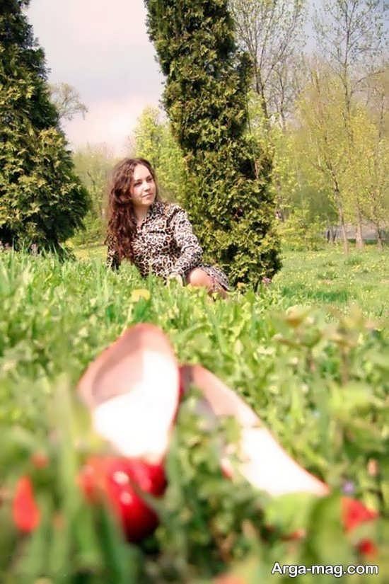 photo 4 - ۲۱ ژست عکس گرفتن در طبیعت برای ثبت عکس های لاکچری