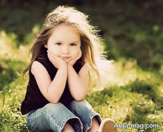 عکس کودکان در طبیعت