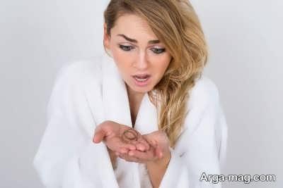 کمبود بیوتین عامل ریزش مو