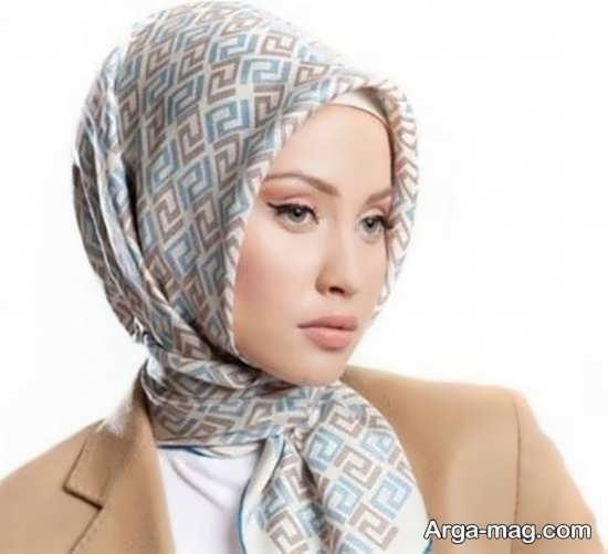 روش های بستن روسری با حجاب کامل