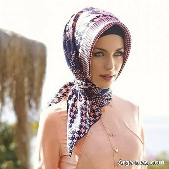 روش های بستن روسری