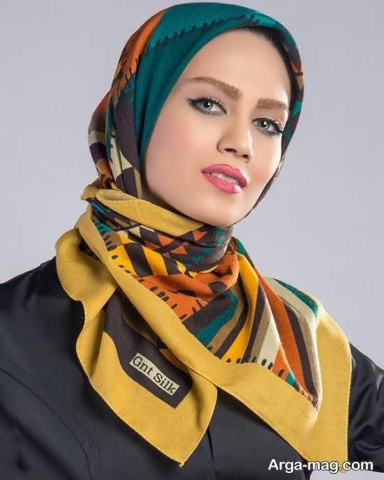گره زدن روسری به زیبا ترین شکل