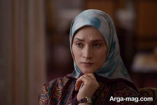 ساناز سعیدی در سریال نفس