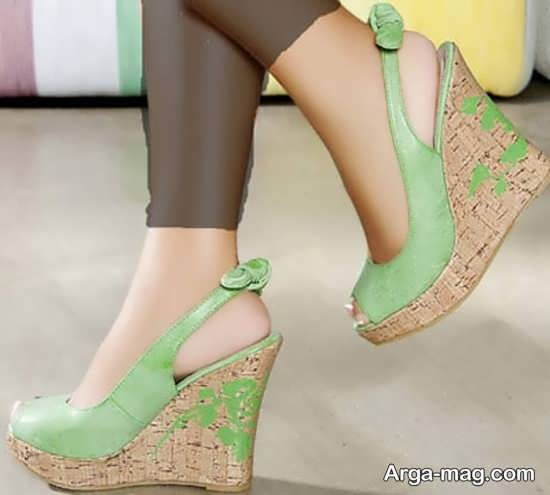 مدل کفش لژدار