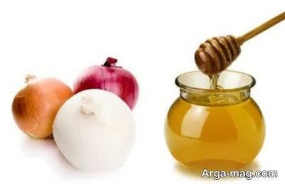 درمان سرفه با پیاز و عسل