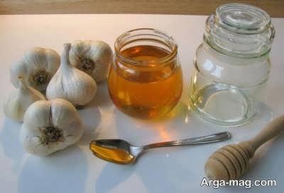 درمان سرفه خشک با سیر و عسل