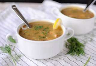 طرز تهیه سوپ ماهی