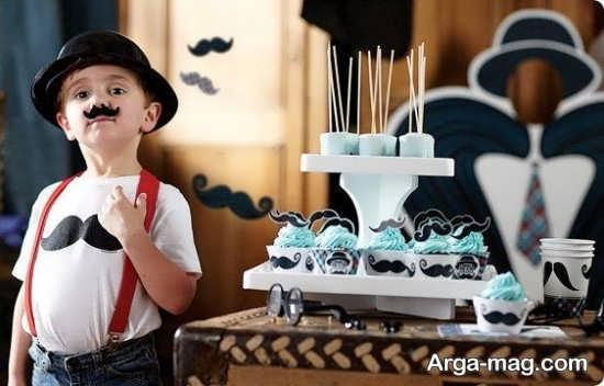 ایده های نو برای برگزاری تولد با تم سبیل