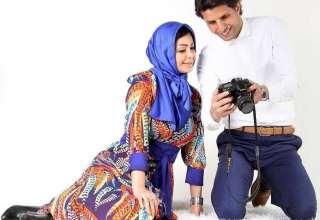 وحید طالب لو و همسرش سوگل