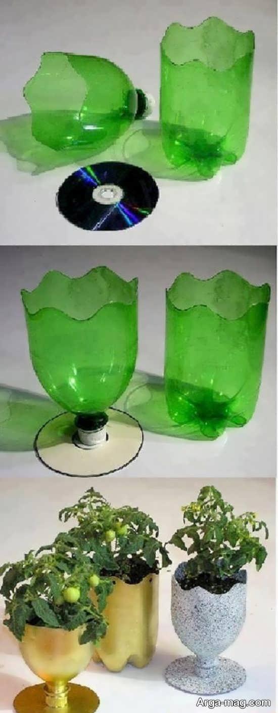 ساخت جام با بطری نوشابه
