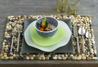 تزیین آشپزخانه با وسایل ساده