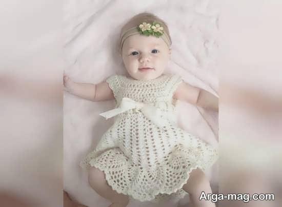 مدل شیک سارافون نوزاد