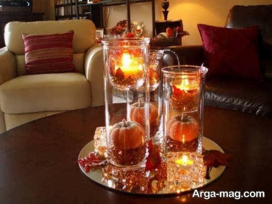 مدل تزیین اتاق خواب با شمع