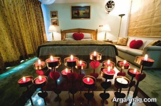 تزیین زیبا و ساده اتاق خواب