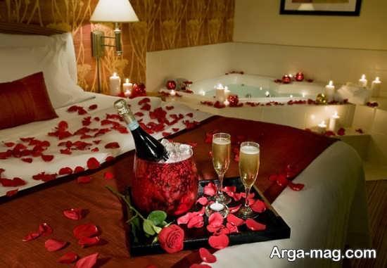 تزیین زیبا و خلاقانه اتاق خواب عروس