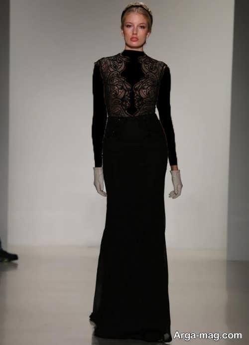 مدل لباس شب مشکی و جدید