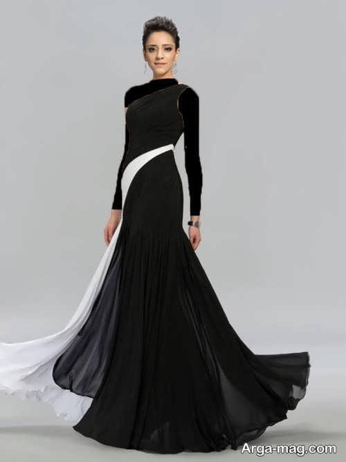 مدل لباس شب زیبا و جذاب