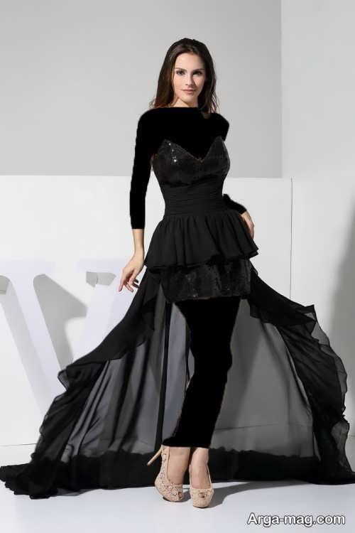 مدل لباس شب کوتاه و خاص