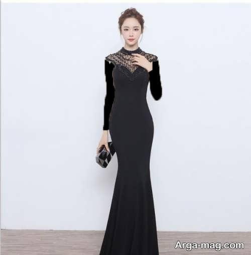 مدل لباس شب کره ای