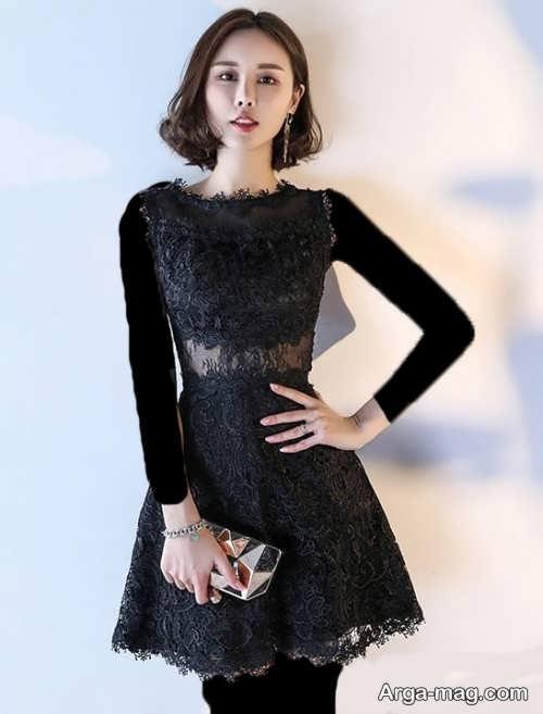 مدل لباس شب کوتاه و زیبا