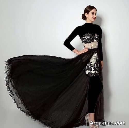 مدل لباس شب زیبا و شیک