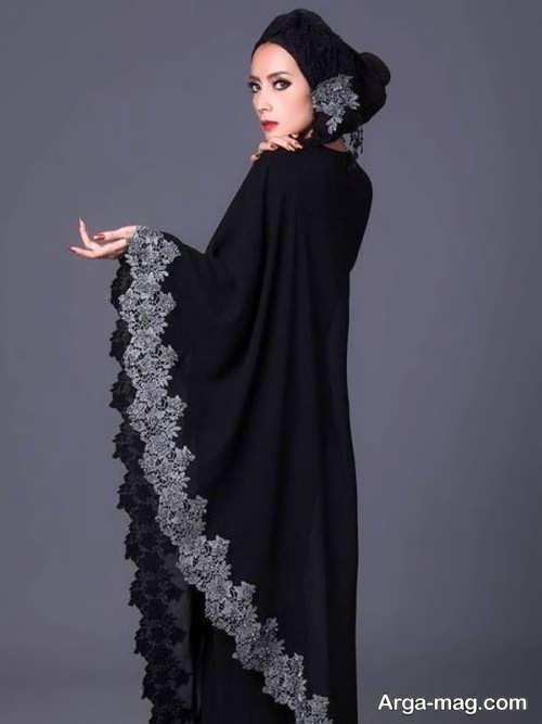 لباس مشکی ساده زنانه