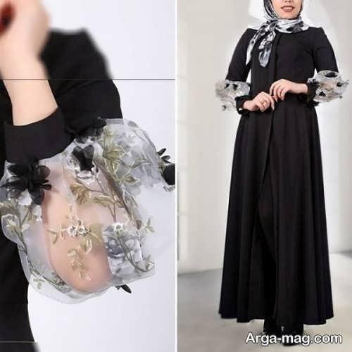 لباس مشکی مجلسی برای مراسم عزاداری