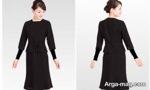 لباس مشکی ساده و شیک