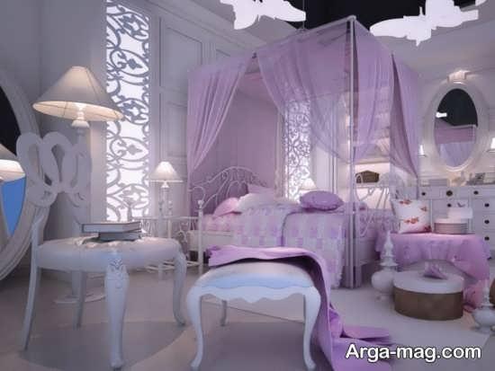 تزیین اتاق شیک عروس