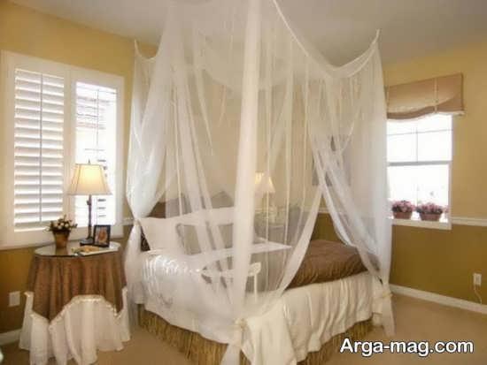 تزیین ساده اتاق خواب عروس