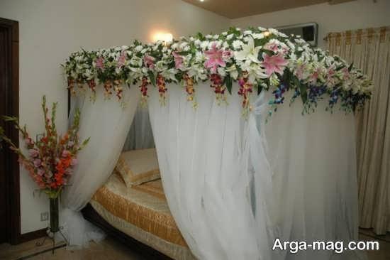 تزیین زیبا و خاص اتاق عروس