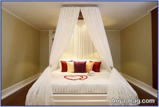 تزیین ساده و شیک اتاق خواب عروس