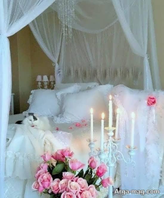 تزیین شیک و خاص اتاق عروس
