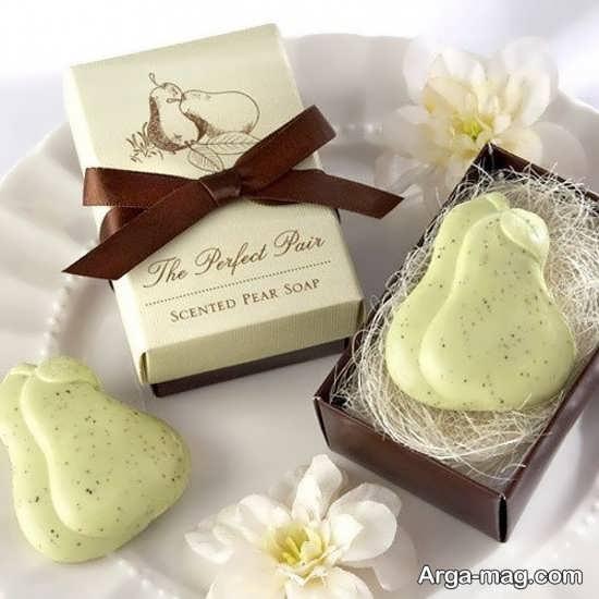 صابون در طرح های مختلف