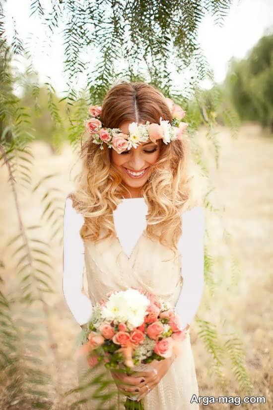 مدل تاج شیک عروس