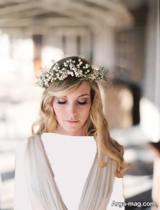 مدل تاج زیبا و جدید عروس