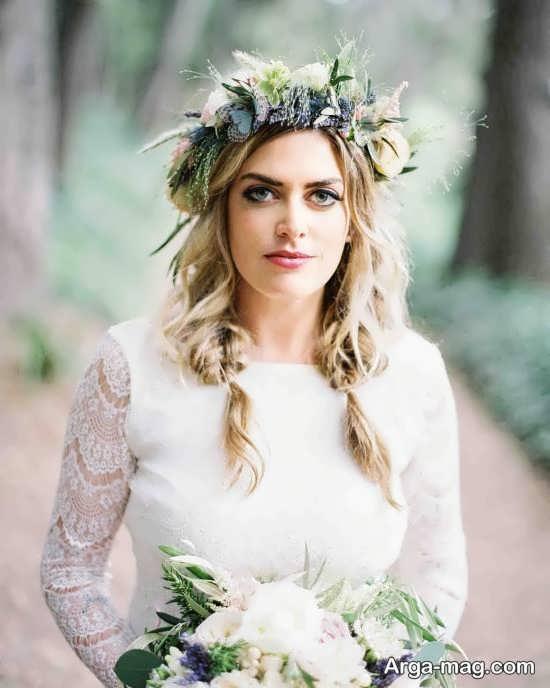 مدل زیبا و جذاب تاج عروس