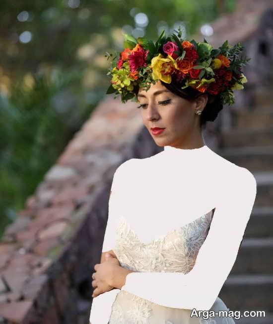 مدل تاج فانتزی و جذاب برای عروس