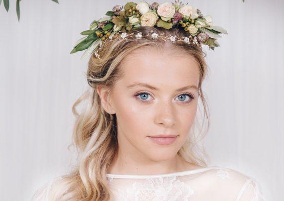 مدل های تاج گل عروس